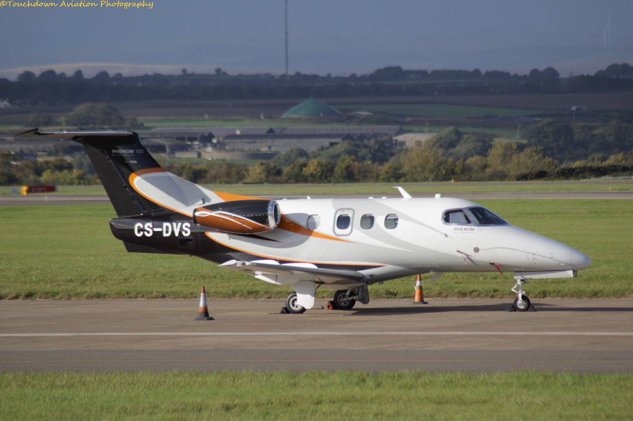 Embraer EMB-500 Phenom 100 CS-DVS 16OCT16