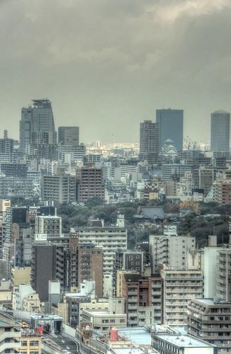 Views from 'TSUTENKAKU' tower on DEC 01, 2016 (7)