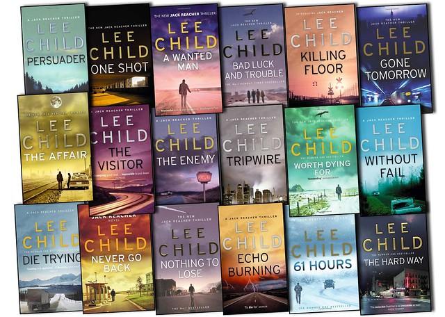 Lee Child Jack Reacher Novels