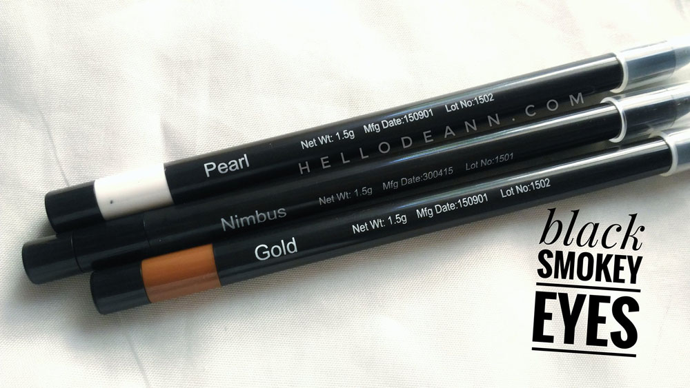 Fashion 21 Twist Eye Pencil Review Black Smokey Eyes- Hello Deann