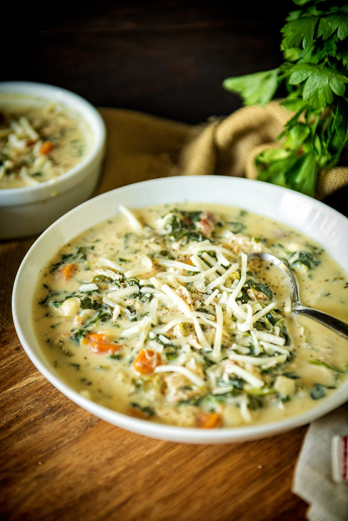 Perfect for leftovers, this slow cooker Chicken Gnocchi Soup is easy and so freaking delicious! Recipe at PasstheSushi.com