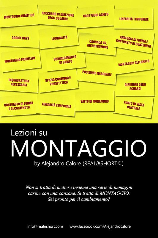 Lezioni su MONTAGGIO by Alejandro Calore REAL&SHORT®)