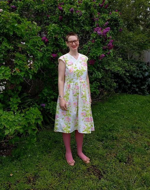 Vintage Vogue 8789 dress