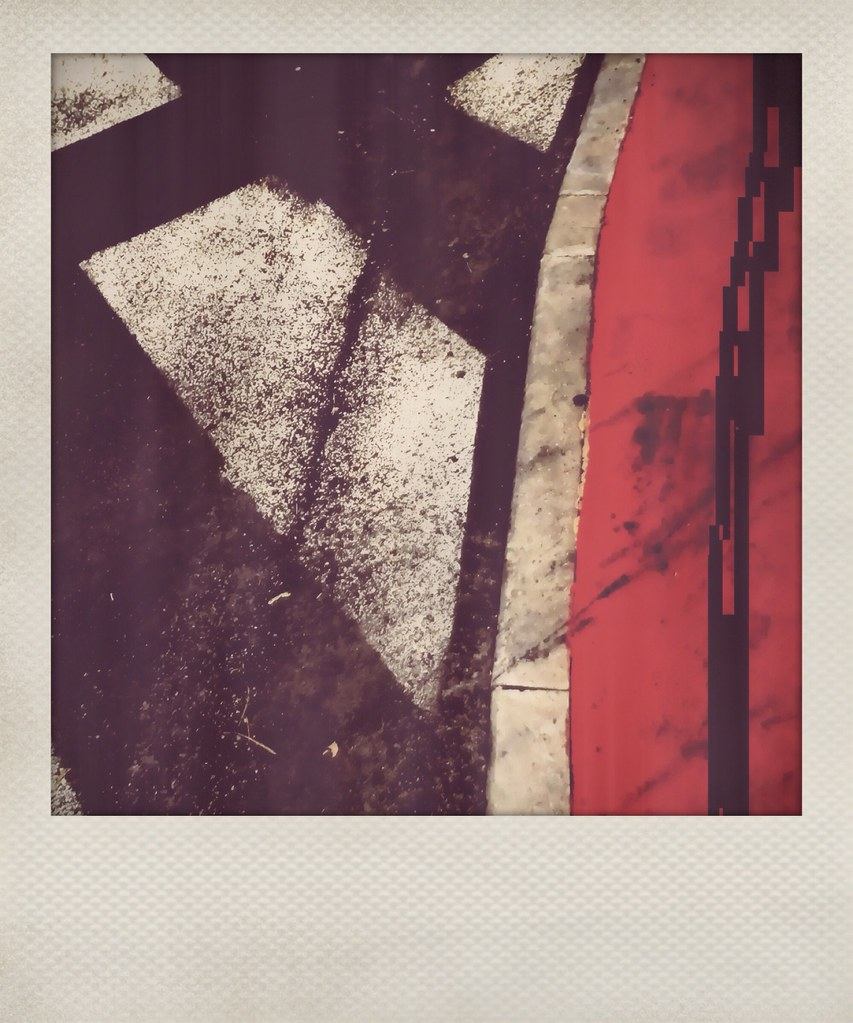 polaroid series: black, white and red