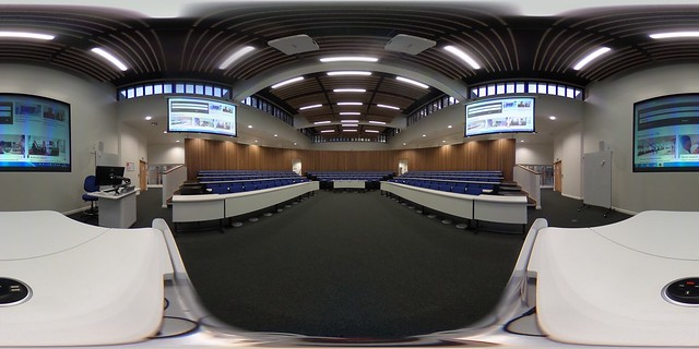 B200 Lecture Theatre - Lecturer's Perspective