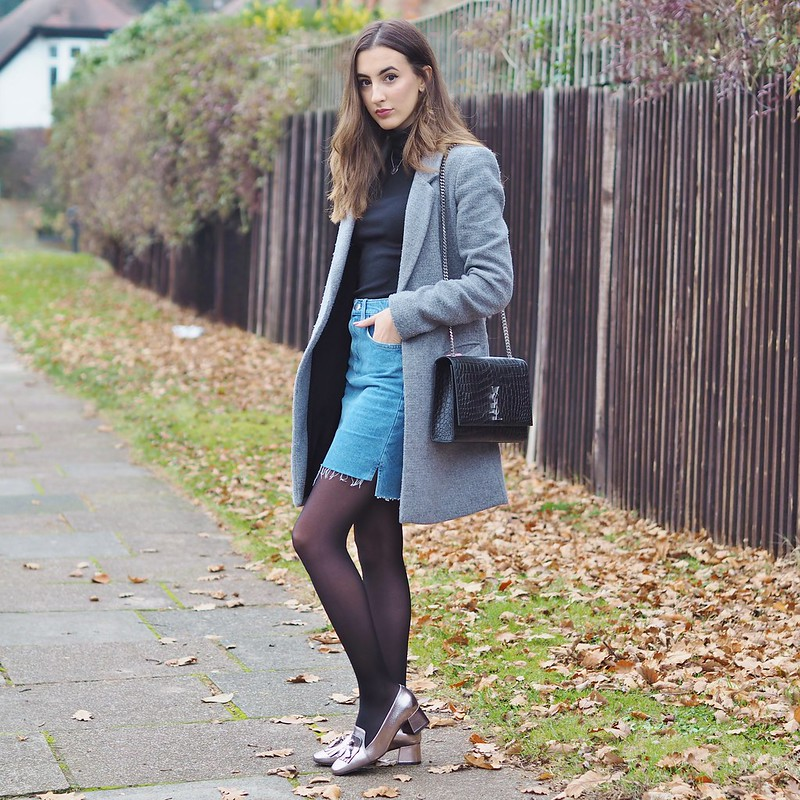 METALLIC LOAFERS OOTD