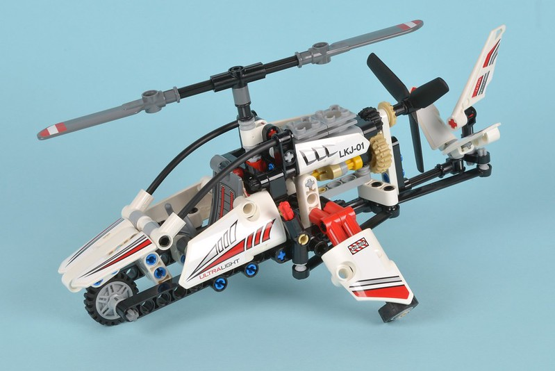 Lego Technic 42057 Ultralight Helicopter Review Brickset Lego Set