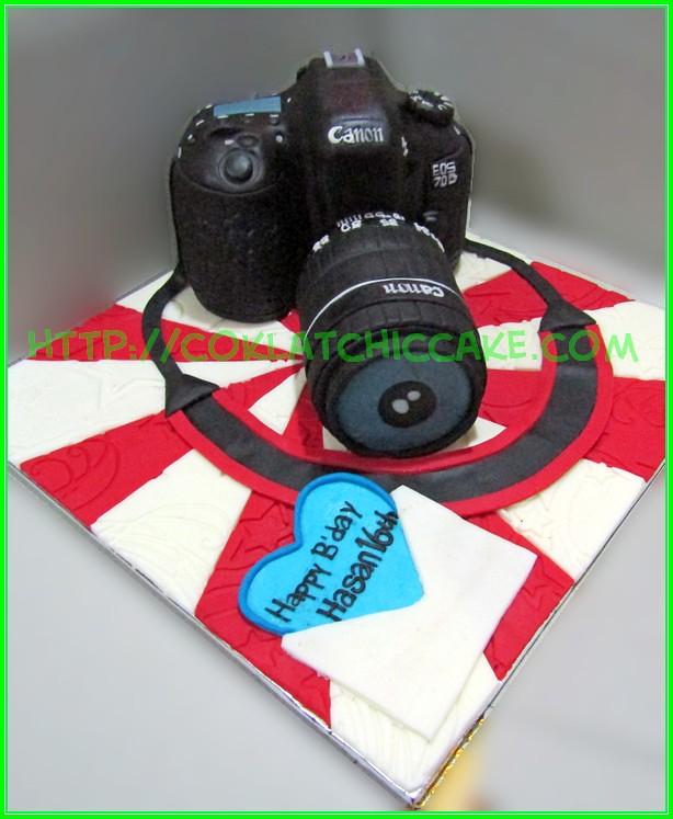 Cake Canon EOS 70D