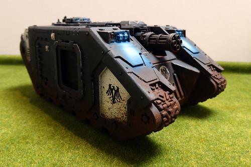 Warhammer 40K - Raven Guard Land Raider