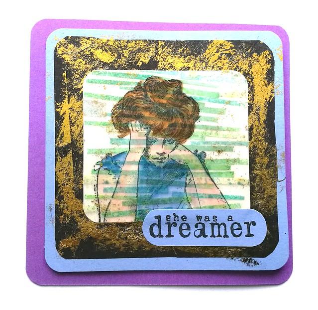 She was a dreamer card