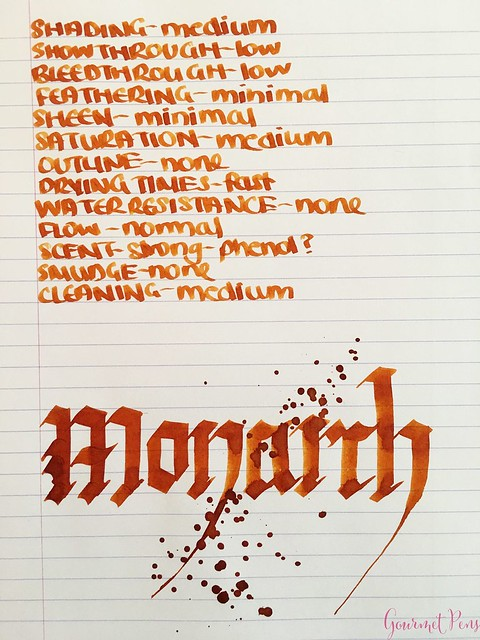 Ink Shot Review KWZI Monarch for @Fontoplum0 8