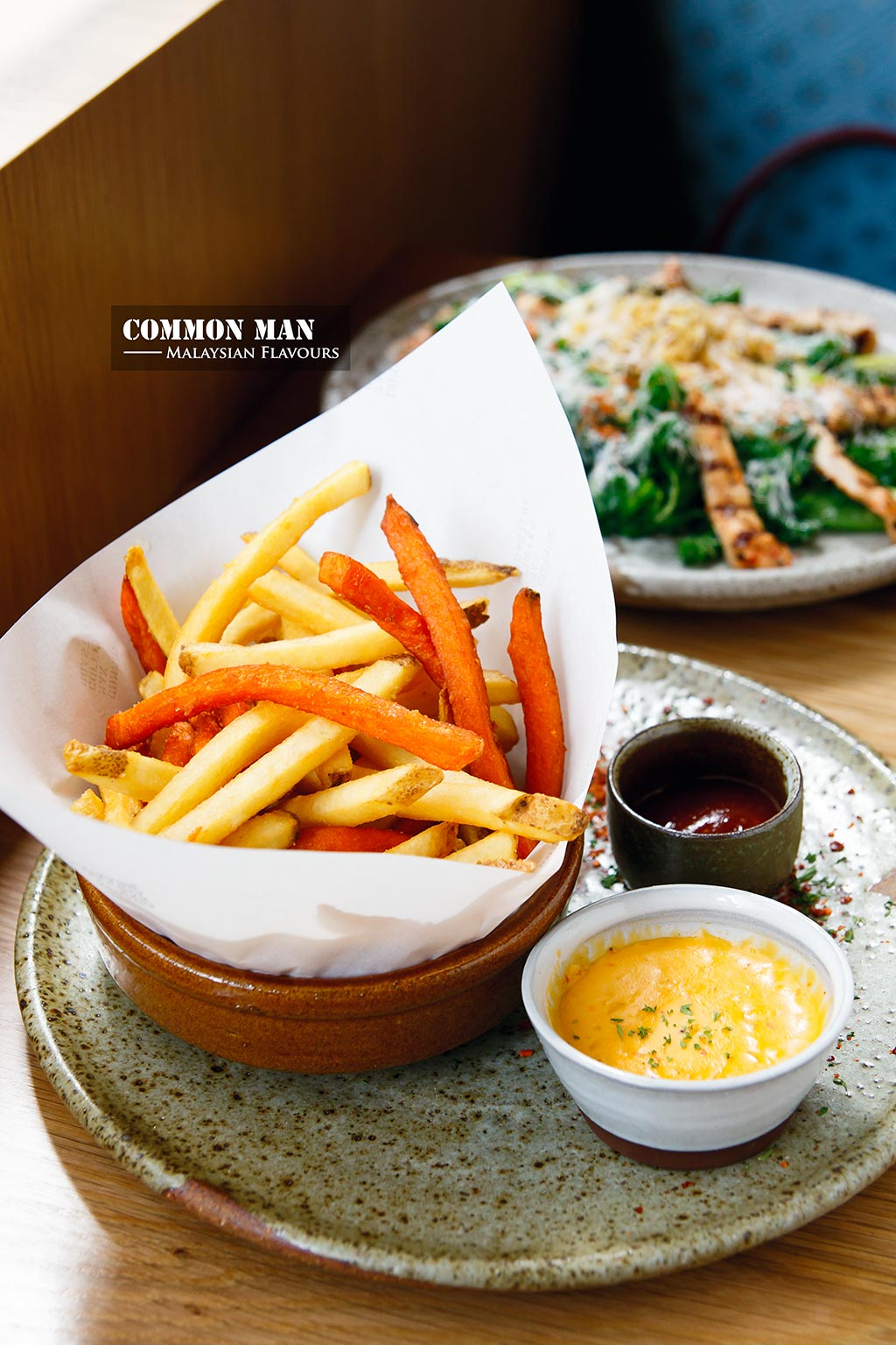 common man cafe fries
