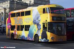 Wrightbus NRM NBFL - LTZ 1436 LT436 - Trolls - Dulwich Library 12 - Go Ahead London - London - 161126 - Steven Gray - IMG_4435
