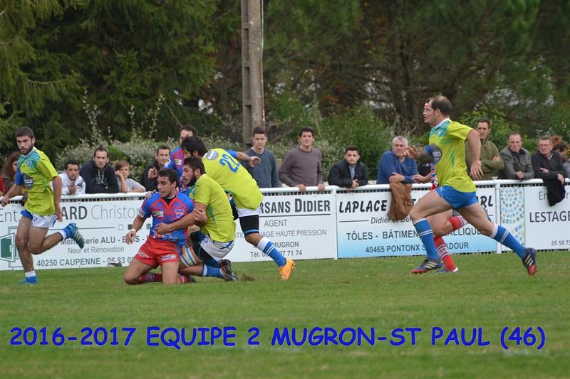 2016-2017 EQUIPE 2 MUGRON-ST PAUL