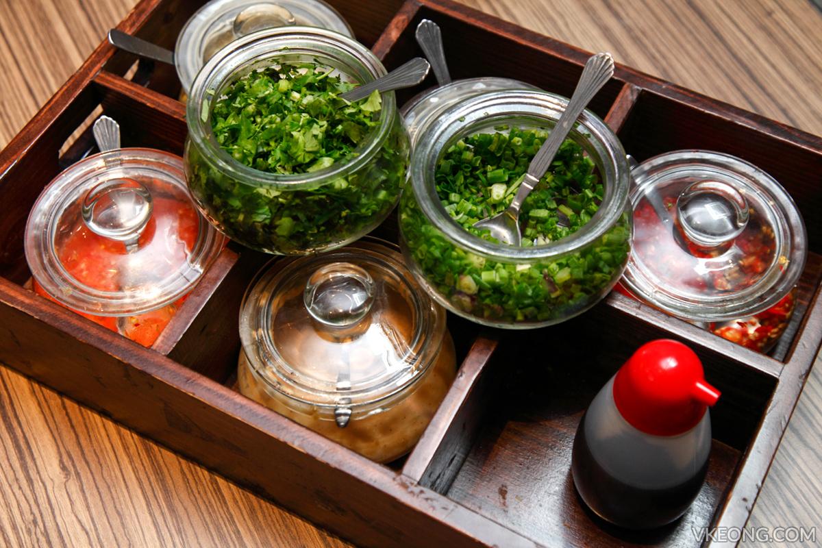 HK Hotpot Bangsar Condiments