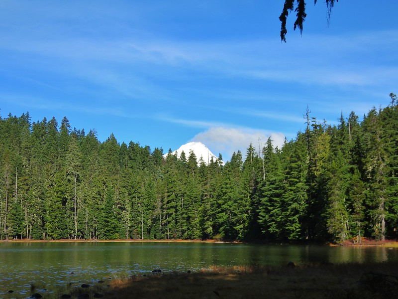Mt. Hood from Upper Twin Lake