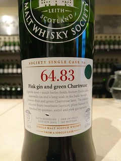 SMWS 64.83 - Pink gin and green Chartreuse