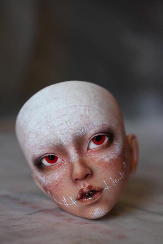 Tutorial - White painted head - Step 4