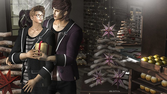 -00- Tailored Jacket@CCB  / {iD} ChristmaS OrnamenT / GACHA@CCB8