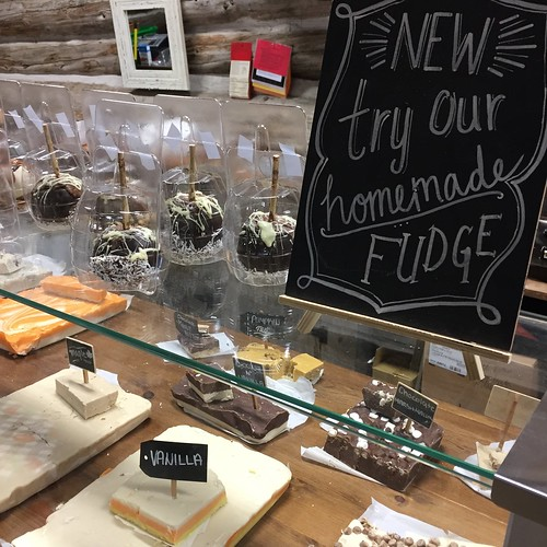 Don't leave without picking up some fudge at Saunders Farm!