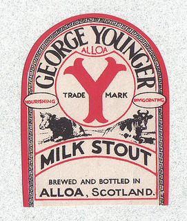 Beer-label-Scotland-George-Younger-Milk