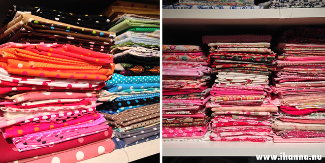 Peek into mom's sewing room - photo by @ihanna #fabricstash