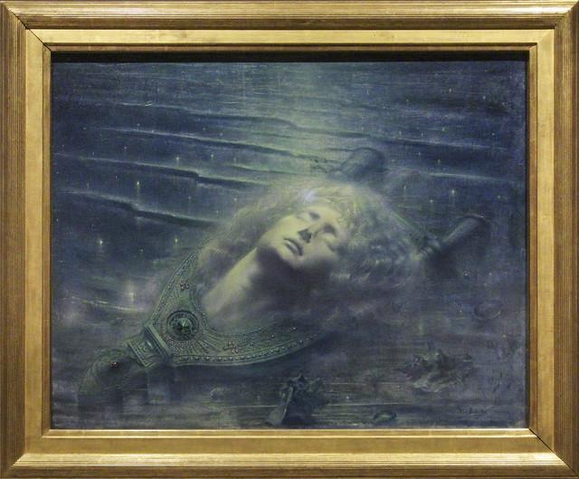The dead Orpheus, Jean Delville