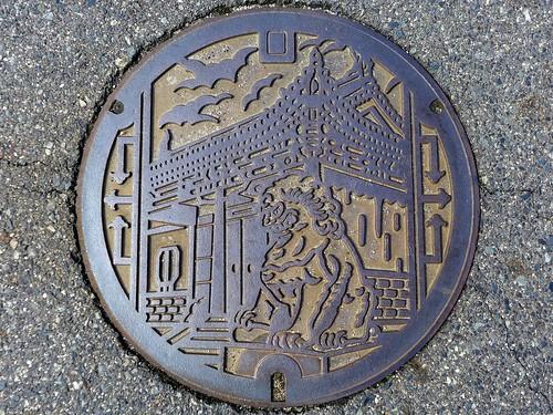 Yurihama Tottori, manhole cover 2 (鳥取県湯梨浜町のマンホール2)