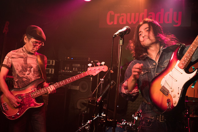 Rory Gallagher Tribute Festival - Takuro Tanaka in session at Crawdaddy Club, Tokyo, 22 Oct 2016 -00307