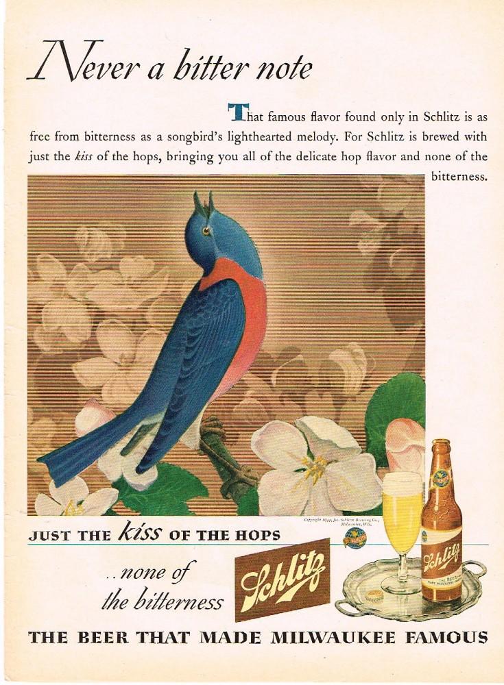 Schlitz-1945-songbird