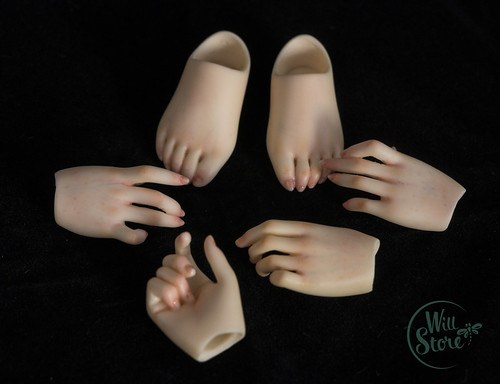 Fairyland Minifee hands and feets OOAK by WillStore