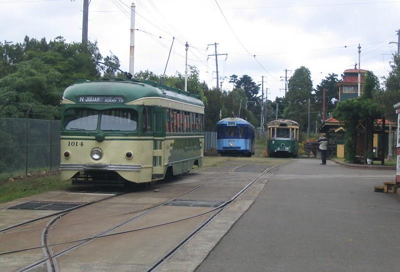 Sydney Tram Museum, November 2006