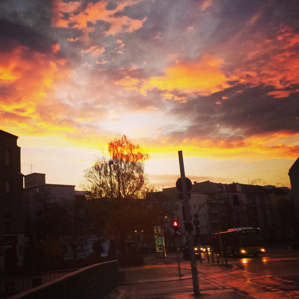 Morgens in Friedenau
