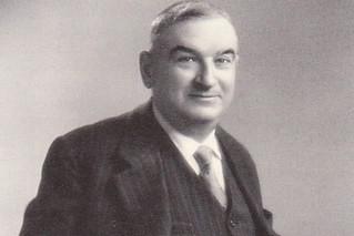 Cesare Contegiacomo, la storia del tessile di Putignano in una foto d'epoca
