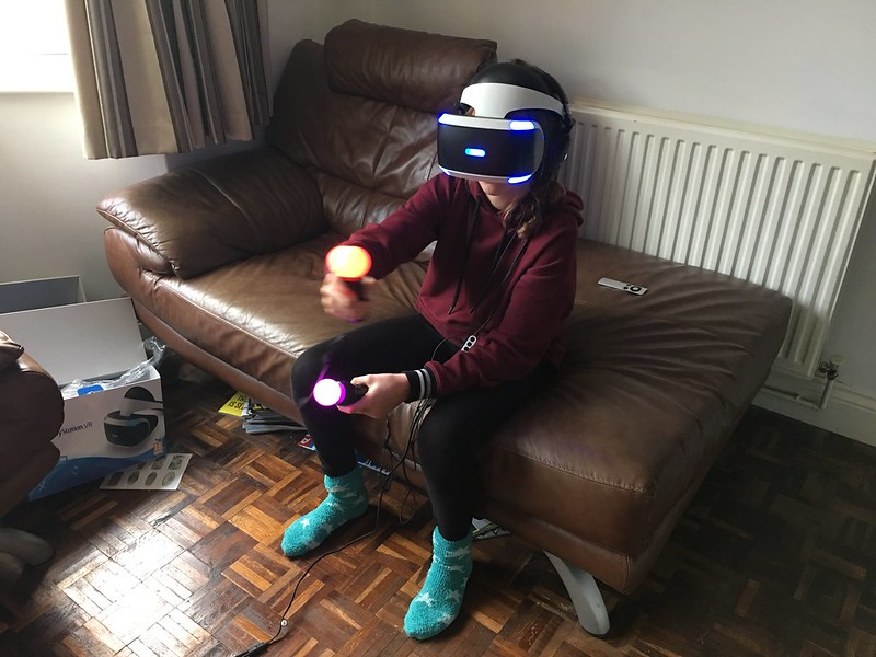 Predlets getting their #psvr fix