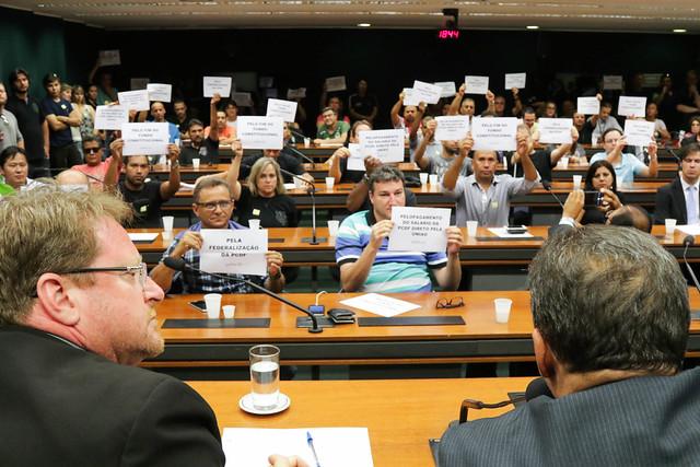 Reunião do Sinpol-DF e entidades com a bancada do DF na Câmara Federal - 25.10.16