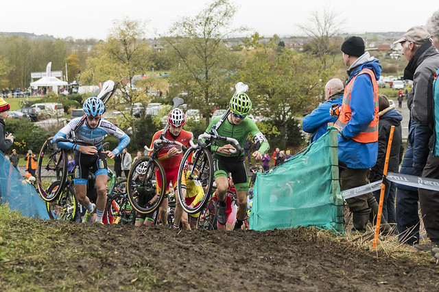British Cycling National Trophy Series round 3, Hetton Lyons, 13 November 2016, Elite Men