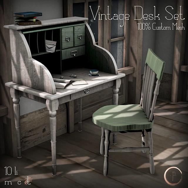 Vintage Desk Set @ Crossroads Nov. 3!