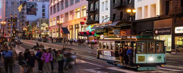 tour bờ Tây nước Mỹ Quảng trường Union Square - San Francisco