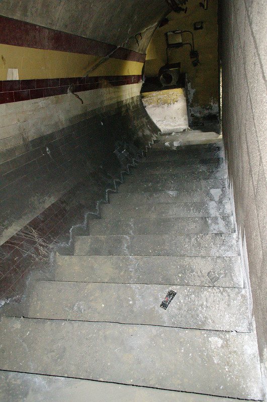 High Level Subway stairs