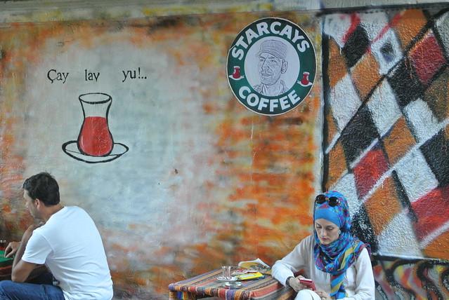 cafe in Beyoğlu, Istanbul