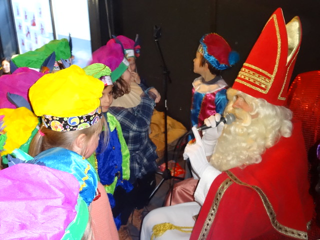 Sinterklaasfeest Bellevue