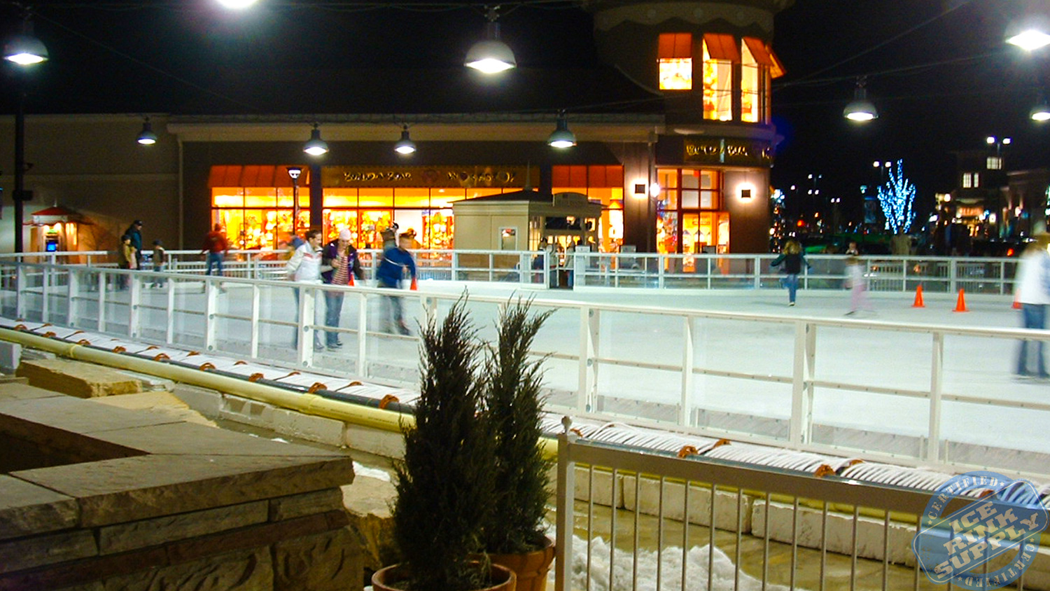 Ice Skating Rink Loveland, Colorado