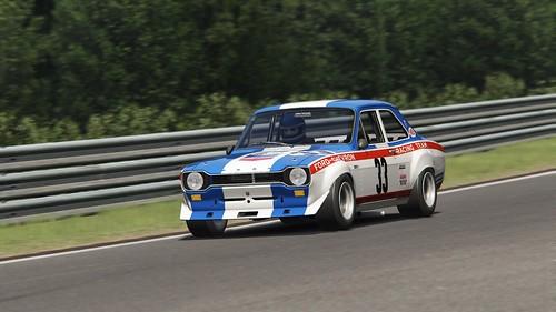 Ford Escort Mk1 - Chevron-Ford Racing Team - Yvette Fontaine - John Fitzpatrick - Spa 24h 1969 (4)