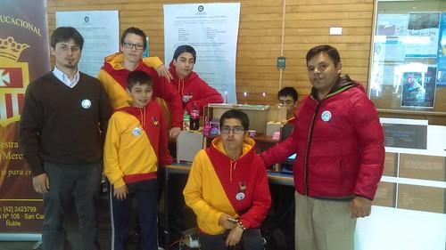 Segunda Feria Escolar de Robótica Escolar Cre@.