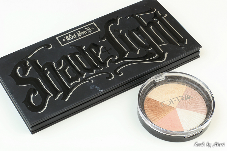 3 kat von d shade & lights contour palette ofra beverly hills highlighter review kokemuksia