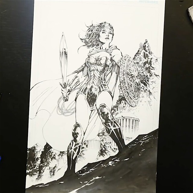 Jim Lee Wonder woman 2