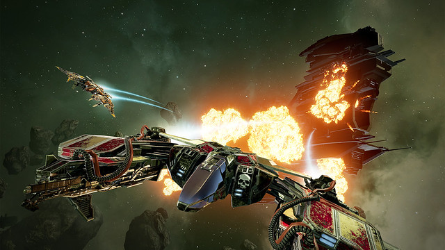 PS VR Games List - Eve Valkyrie