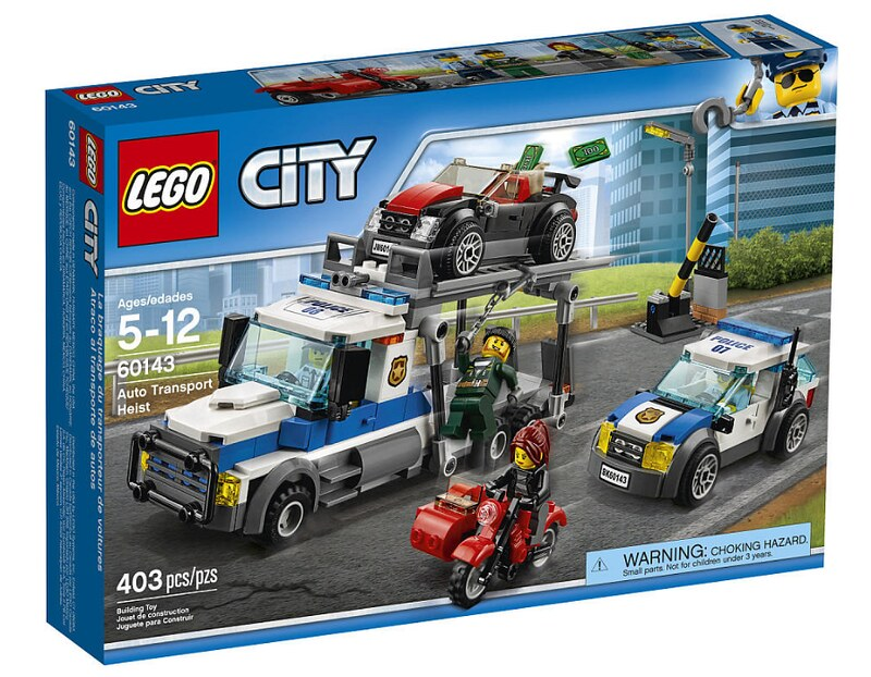 LEGO City Auto Transport Heist (60143)