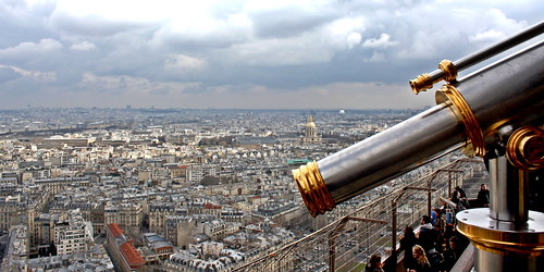 Eiffel Tower viewing deck